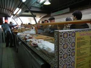 Moroccan food at Enfants Rouges