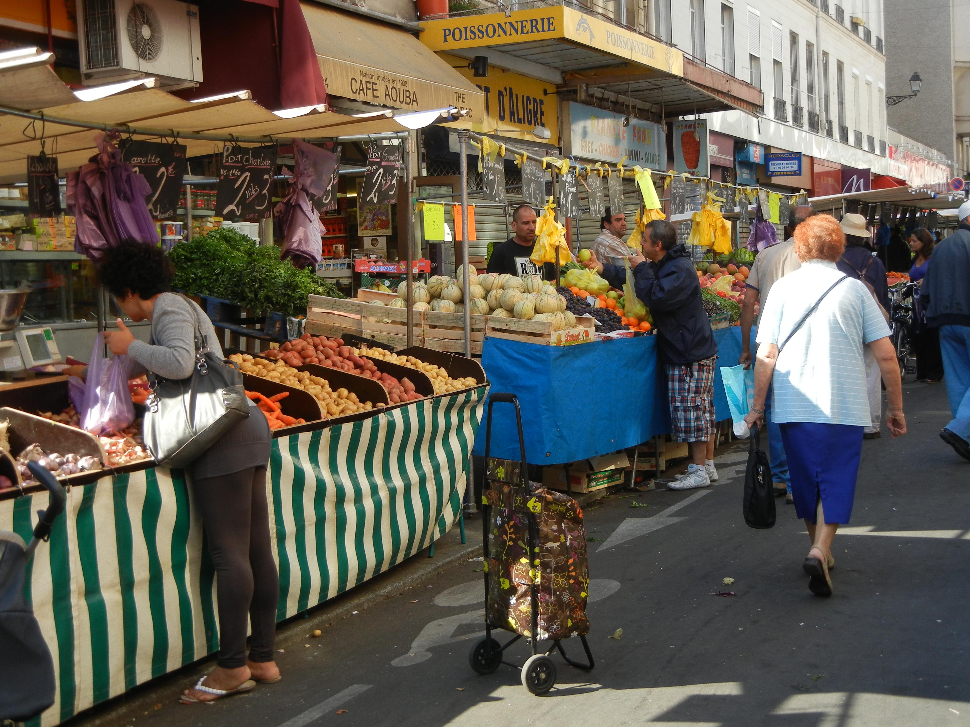 Best Markets Paris Food