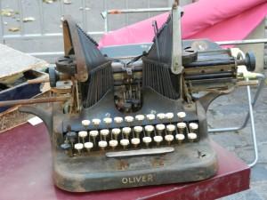 typewriter brocante