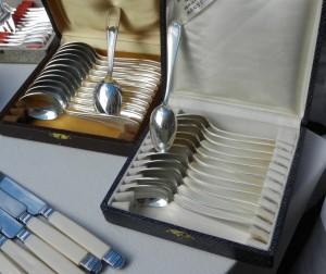 brocante silverware