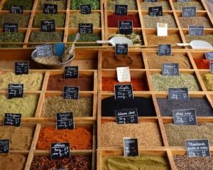 Versailles spice vendor