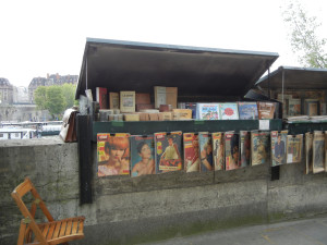 bookseller on Seine