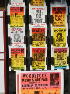 Booksellers concert posters