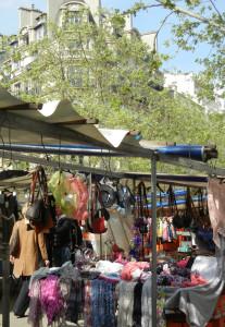 non-food items at Paris food market
