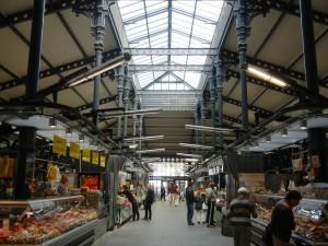 indoor market Paris