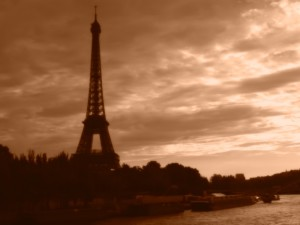 moody Eiffel Tower