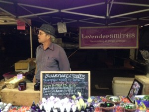 lavender vendor
