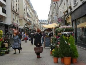 Rue Daguerre Paris street market