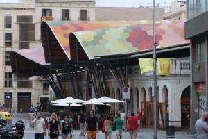 Barcelona Santa Caterina market