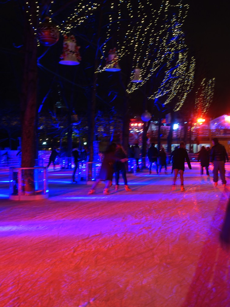 Paris Christmas Skating Rink
