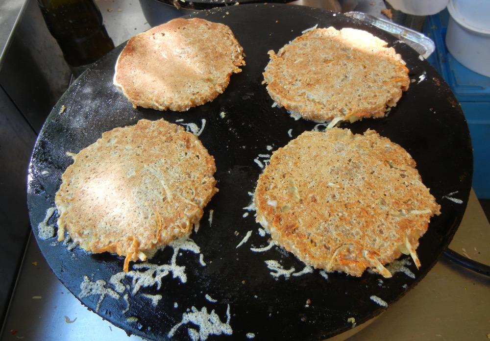 Batignolles market potato pancakes