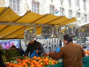 Belleville Market Paris