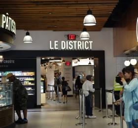 Le District café and pâtisserie
