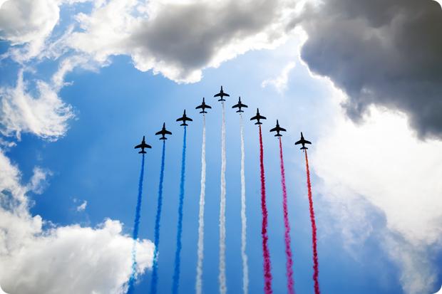 Bastille Airshow Paris