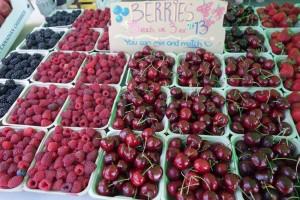 local cherries Stanley Park