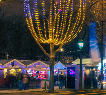 Christmas market Paris