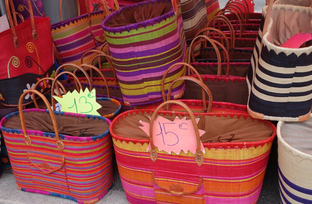 Paris market baskets