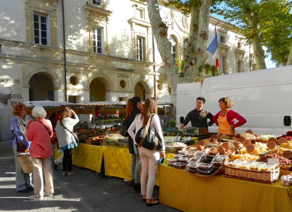 market in St-Remy
