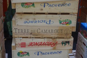 Crates in Provence