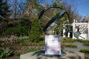book at Longfellow garden
