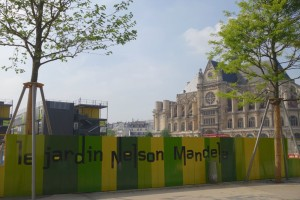 Jardin Nelson Mandela Paris