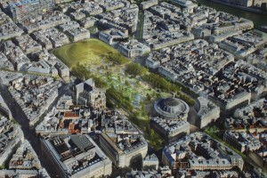 Forum des Halles building plans