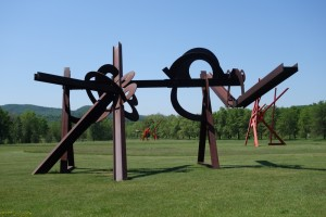 sculptures at Storm King Hudson Valley