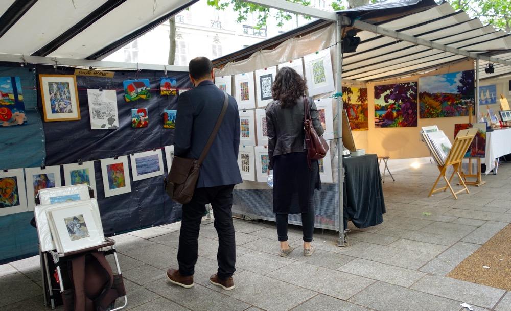 Bastille Arts & Crafts Market Paris