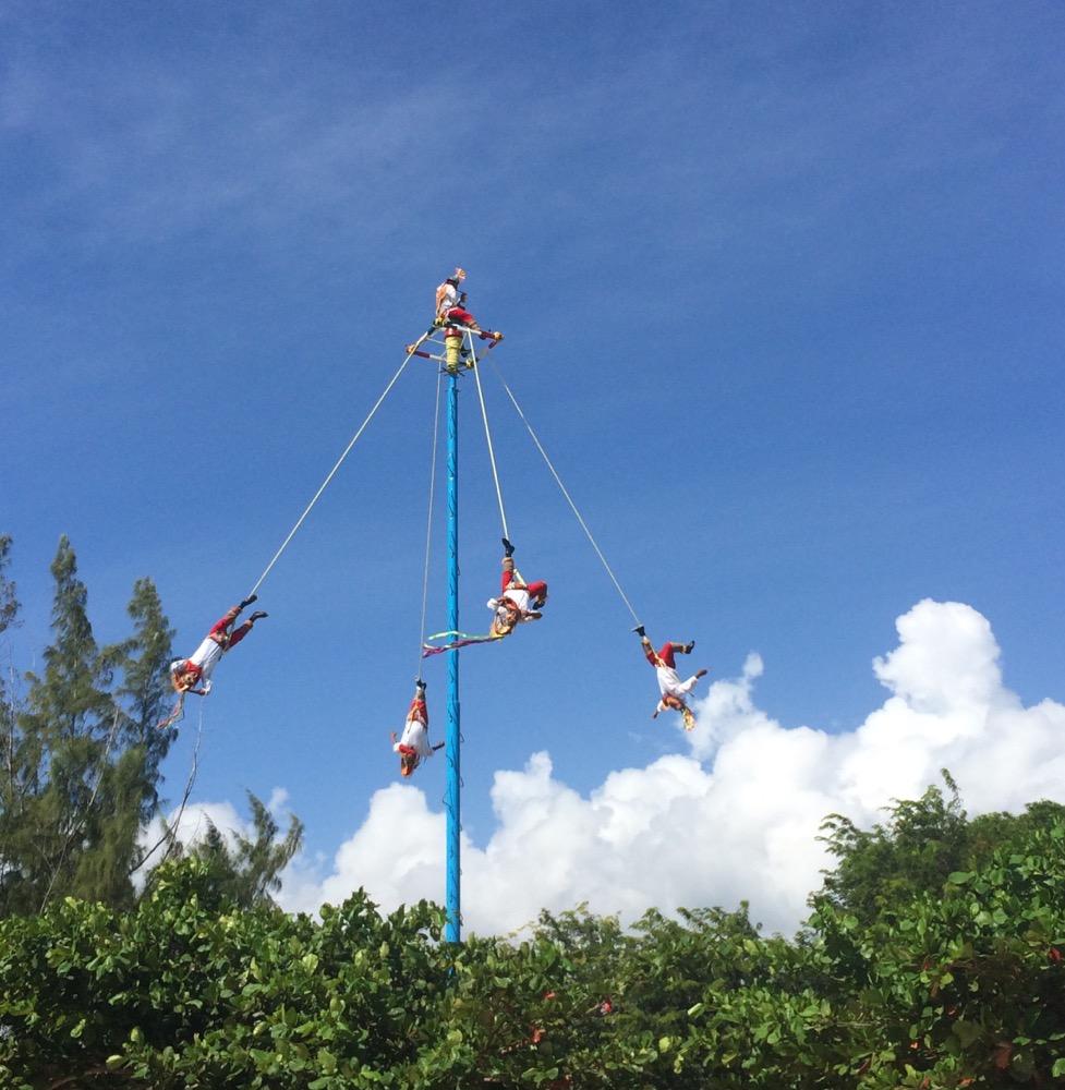 Mayan pole dancing