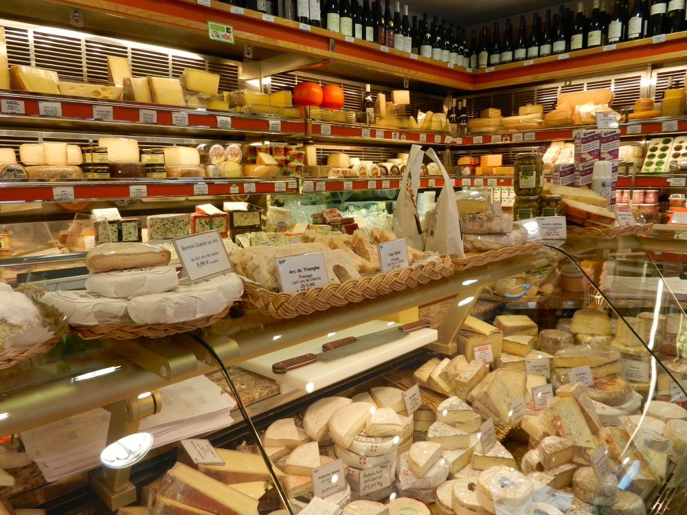 Rue Cler Paris cheese