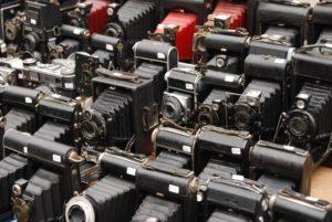 vintage cameras flea market