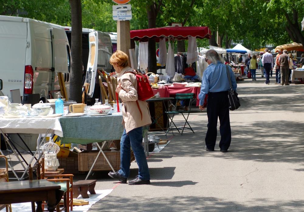 flea market Paris