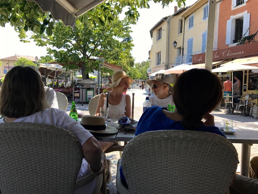 L'Isle-sur-la-Sorgue café