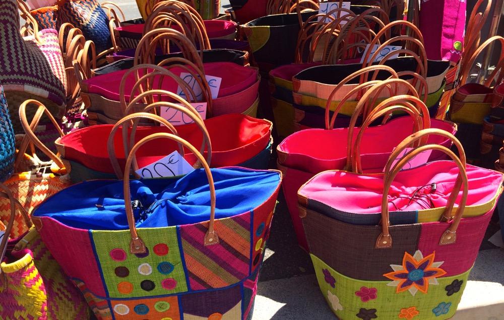 Arles market baskets
