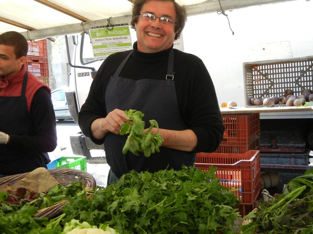 Joel Thiebault Paris markets